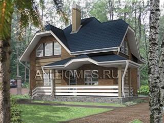 Дом из кирпича - План № E-099-1K