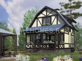 Проект дома из кирпича № G-063-1S
