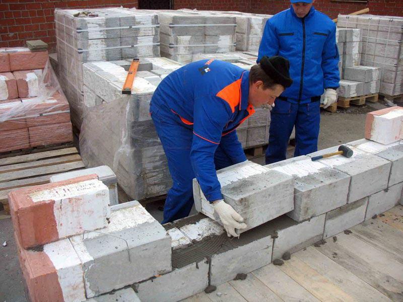 Блоки для строительства своими руками видео